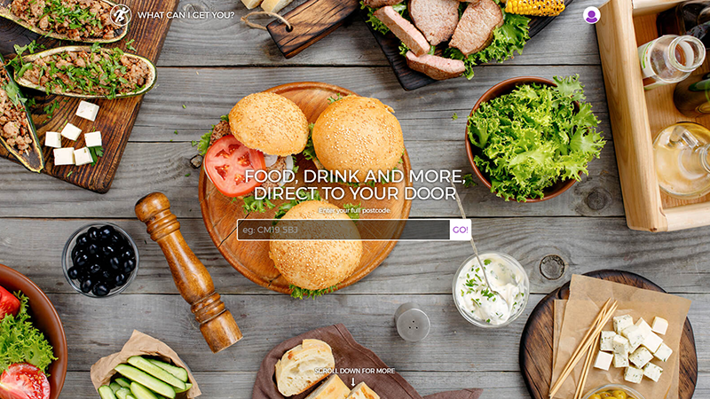 What Can I Get You? website designed by EQ Creative